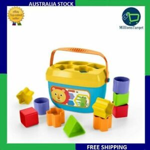 Fisher-Price Baby's First Blocks with Introduces baby to colors & shapes