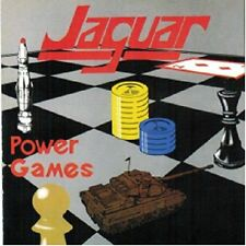 CD Jaguar-Power Games + 6 BONUS TRACKS/NWOBHM