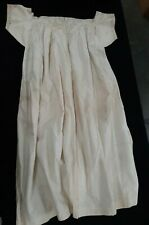 Vintage Early 20th Century Cotton Summer Nightgown with Embroidery