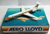 SCHABAK 1:600 SCALE DIECAST AERO LLOYD DOUGLAS MD-83 - 904/61