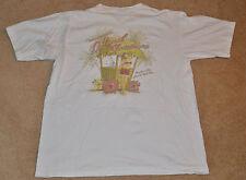 """Used! Tommy Bahama (White) Shirt """"Island Christmas"""" (Tee T) Short Sleeve MEDIUM"""