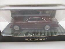 modello di auto 1:43//Minichamps Bentley Continental R 1996 verde metallizzato