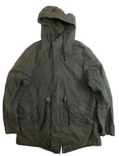 Alpha Industries M-59 Fishtail Parka Black size Large Jacket