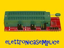 scheda di sviluppo picmicro microchip per pickit con zoccolo zif ICSP (C110)