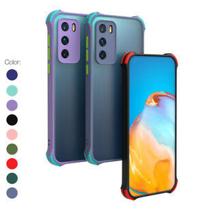 Shockproof Bumper Slim Matte Case Cover For Samsung Galaxy A12 A21s S21+ Ultra
