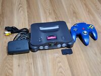 Nintendo 64 Console Bundle! N64! 64! 1 CONTROLLER! W/ ALL CORDS! JUMPER PAK!