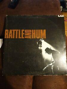 "U2 -  Rattle and Hum - DOUBLE 12"" VINYL ALBUM - 1988 - Gatefold Sleeve"