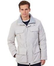 Nautica Men's Solid Parka Jacket, Sand Drift, Size L.