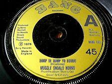 "MUSCLE SHOALS HORNS - BUMP DE BUMP YO BOODIE   7"" VINYL"