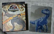 Jurassic Park World 1-5 4K disc plus Blu-ray Collection Steelbooks