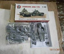 RARE VINTAGE 1-35 ALBY 326 PANHARD AMD 178 ARMOURED CAR FRANCE GERMANY EXCELLENT
