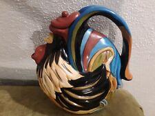 Jameson & Taylor Rooster Teapot (Blue Sky) Vintage