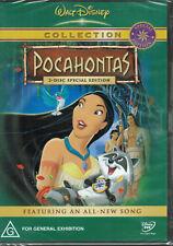 Disney Pocahontas (DVD, 2004, 2-Disc) Brand new and Sealed