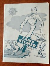 Camp Kilmer N.J. Army Service Forces Debarkees Returning Home Wwii Booklet 1945