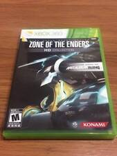 Zone of the Enders HD Collection (Microsoft Xbox 360, 2012) Complete!