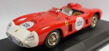 Modellini statici di auto da corsa Rally bianchi Ferrari