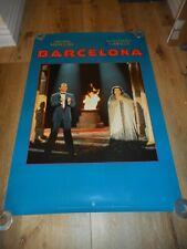 Freddie Mercury - Barcelona- Original Ss Rolled Promo Poster -Montserrat Caballe