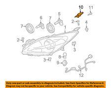 MAZDA OEM 3 Headlight Head Light Lamp-Mounting Repair Bracket Left BBY4510B7