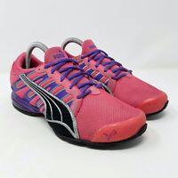 Puma Voltaic 3 NM Pink Purple Running Shoes Women's Size 7.5 Rare