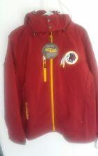 NFL Washington Redskins  3 layer soft shell Large Mens Gooded Jacket DD001
