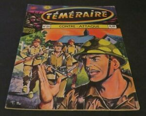 TÉMÉRAIRE  #26 WWII WAR FRENCH COMIC BOOK ARTIMA 1960  ****** FREE SHIPPING ****