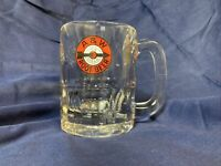 Vintage Heavy Glass A&W Root Beer Mug With Arrow