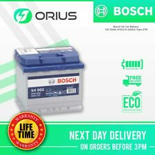 Bosch S4 Car Battery 12V 52Ah 470CCA 0092S40020 Type 079