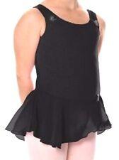 Nwt New Danskin Leotard Dress Skirt Dance Black Cute Nice Toddler Girl 1/2 1 2