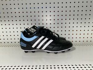 Adidas Terreno Duro HG Womens Leather Soccer Cleats Size 8.5 Black Blue White