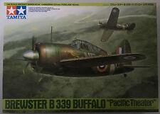 "TAMIYA 61094 échelle 1/48 Brewster B-339 Buffalo ""Pacific Theater"" Model Kit Neuf dans sa boîte"