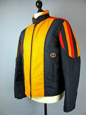 ANBA of AUSTRIA multi coloured QUILTED PADDED SKI JACKET XLARGE cj153