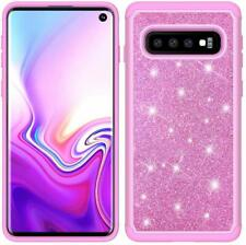 Case For Samsung Galaxy S10 Cover Sparkle Bling Shining Heavy Duty Protection
