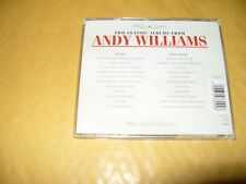 Andy Williams Honey/Happy Heart cd 2000 Excellent + condition