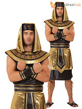 Mens Egyptian King Pharaoh Ancient Egypt Greek God Fancy Dress Costume Adult