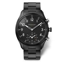 Kronaby Apex hybrid Smartwatch 43 Mm Edelstahl schwarz