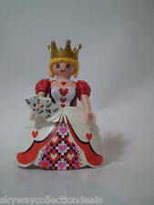 Special Playmobil Fantasy figure -Playing Cards ,Poker -Judith ,Queen of Hearts.