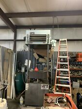 Lanair Waste Oil Heater, 150000 BTU With Gallon Tank, Roof Chimney Kit,