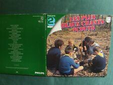 LES PLUS BEAUX CHANTS SCOUTS - Succès 2 LP pochette ouvrante PHILIPS 6620 063