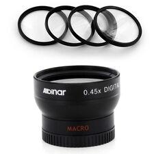 37mm Wide Angle Lens, Macro Filter Kit for Sony DCR-TRV350 TRV37 SR5 SR7 SR8,NEW