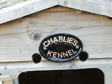 Personalised, Dog house ,name, any name, kennel, plaque