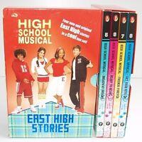 BOXED SET Disney HIGH SCHOOL MUSICAL 4  Books 5-8 Bundle East High Stories