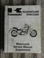 1987 1990 1992 1993 95 1996 Kawasaki VN1500 CLASSIC Service Repair Shop Manual
