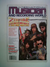 INTERNATIONAL MUSICIAN July 1987 ZODIAC Joe Jackson