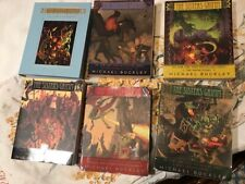 6 Sisters Grimm Series Michael Buckley - Hardcover book Softcover Lot