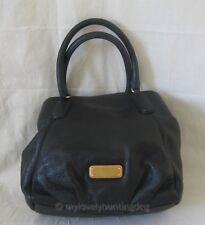 NWT Auth Marc by Marc Jacobs New Q Fran Satchel Crossbody Bag Black