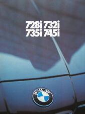 Prospekt brochure BMW E23 728i 732i 735i 745i 2 1979