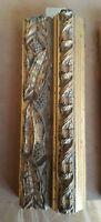 Cornice in legno ORO X quadri,foto,stampe,poster-LAR.CM 5 ALT.CM.3 BAT.1.3