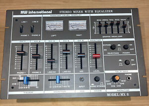 HW International Vintage 5 Channel Stereo Mixer
