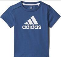 ADIDAS Logo T-Shirt Infant Boys Blue