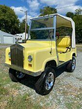 1997 Club Car Ds Royal Ride Golf Cart
